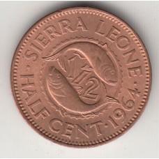 1/2 цента, Сьерра-Леоне, 1964
