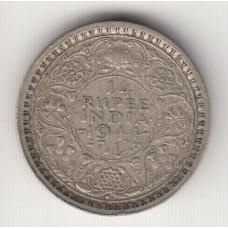 1/4 анны, Британская Индия, 1944