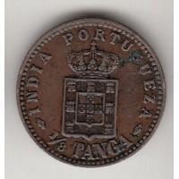 1/8 таньга, Португальская Индия, 1901