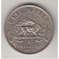 1 шиллинг, Британская Восточная Африка, 1950