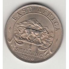 1 шиллинг, Восточная Африка, 1950