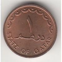 1 дирхам, Катар, 1973