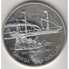 1 доллар, Канада, 1991