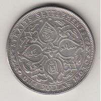 1 доллар, Стрейтс-Сеттльментс, 1903