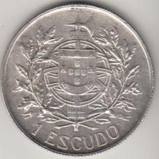 1 эскудо, Португалия, 1910