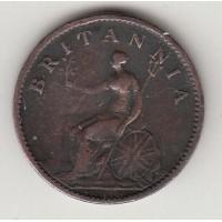 1 фартинг, Великобритания, 1806