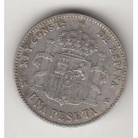 1 песета, Испания, 1901
