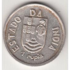 1 рупия, Португальская Индия, 1935