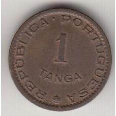 1 таньга, Португальская Индия, 1952