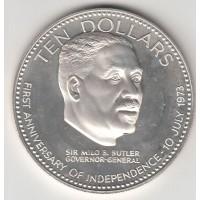 10 долларов, Багамские острова, 1974