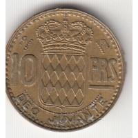10 франков, Монако, 1951