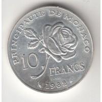 10 франков, Монако, 1982