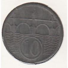 10 геллеров, Чехия и Моравия. 1940