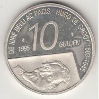 10 гульденов, Нидерланды, 1995