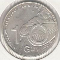 10 гульденов, Нидерланды, 1996