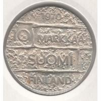 10 марок, Финляндия, 1970
