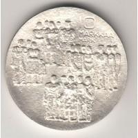 10 марок, Финляндия, 1977