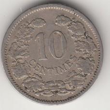 10 сантимов, Люксембург, 1901