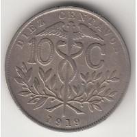 10 сентаво, Боливия, 1919
