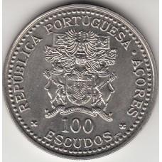 100 эскудо, Азорские острова, 1986