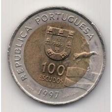 100 эскудо, Португалия, 1997