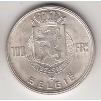 100 франков, Бельгия, 1951