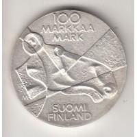 100 марок, Финляндия, 1989