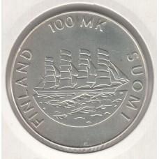 100 марок, Финляндия, 1991