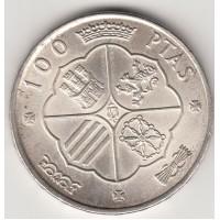 100 песет, Испания, 1966