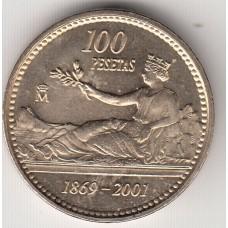 100 песет, Испания, 2001