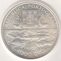 1000 эскудо, Португалия, 1997