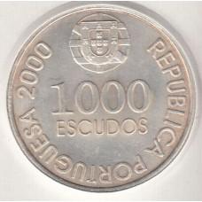 1000 эскудо, Португалия, 2000