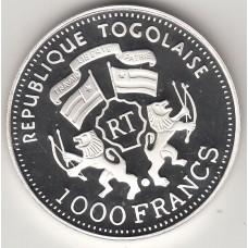 1000 франков, Того, 1999