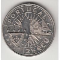 2,5 экю, Португалия, 1991