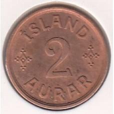 монета 2 эре, Исландия, 1940год , стоимость , цена