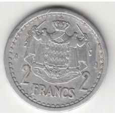 2 франка, Монако, 1943