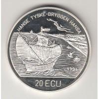 20 экю, Норвегия, 1995
