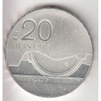 20 франков, Швейцария, 1997