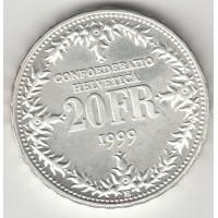 20 франков, Швейцария, 1999