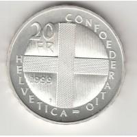 20 франков, Дорнах, Швейцария, 1999
