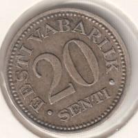 20 сенти, Эстония, 1935
