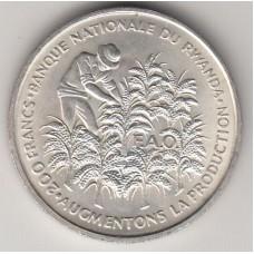 200 франков, Руанда, 1972