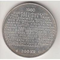 200 крон, Швеция, 1980