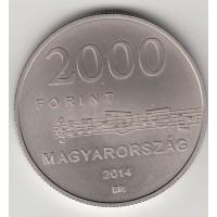 2000 форинтов, Венгрия, 2014