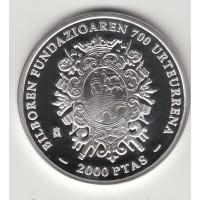2000 песет, Испания, 2000