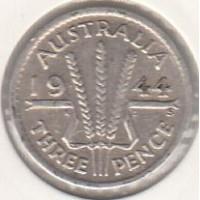 3 пенса, Австралия, 1944
