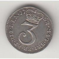 3 пенса, Великобритания, 1762