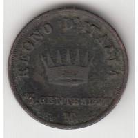 3 сентесимо, Италия, 1812