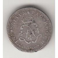 4 соля, Франция, 1691