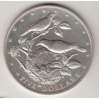 5 долларов, Острова Кука, 1978